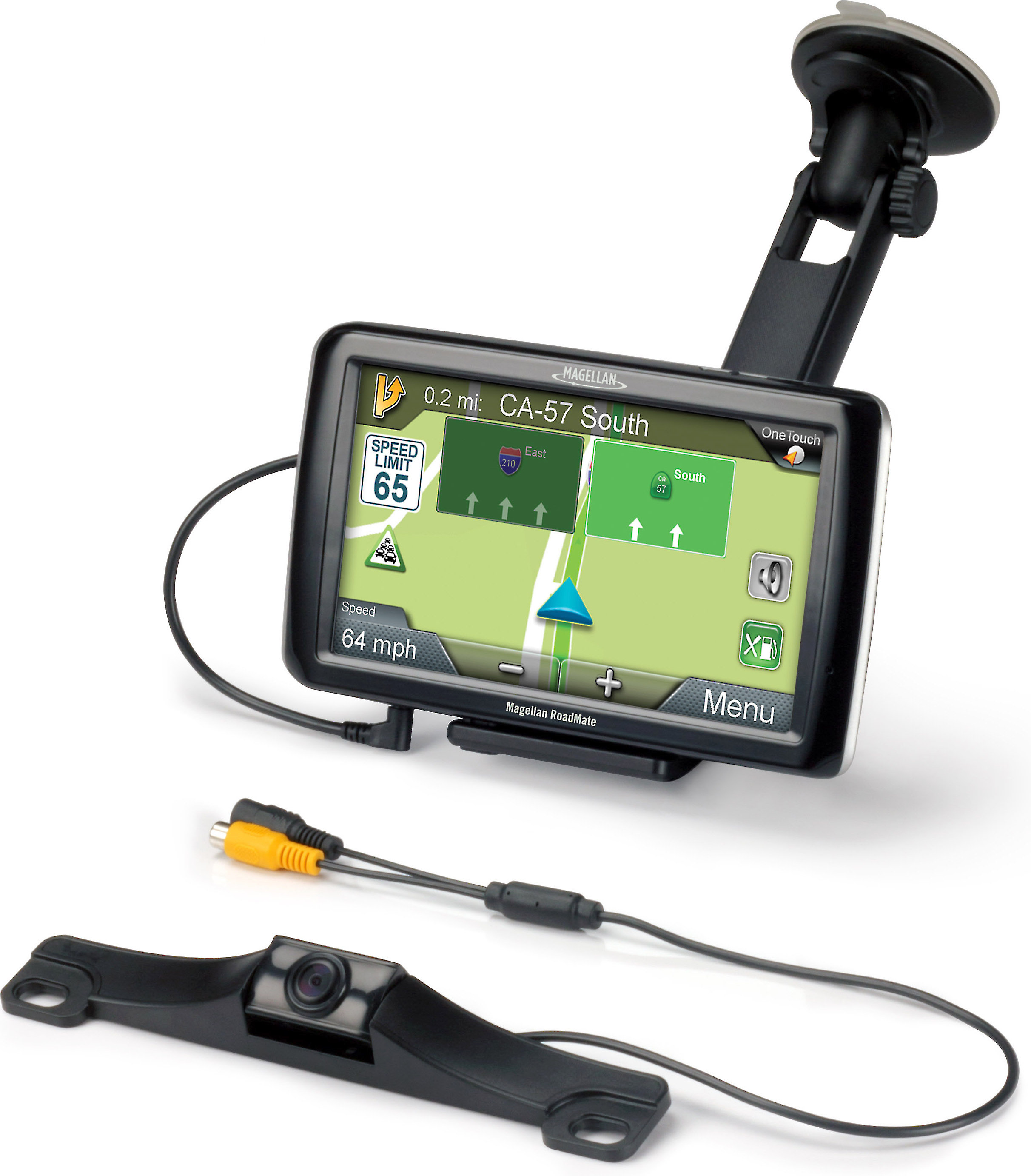 Magellan RoadMate 5255T-LM (with Wireless Back-Up Camera)