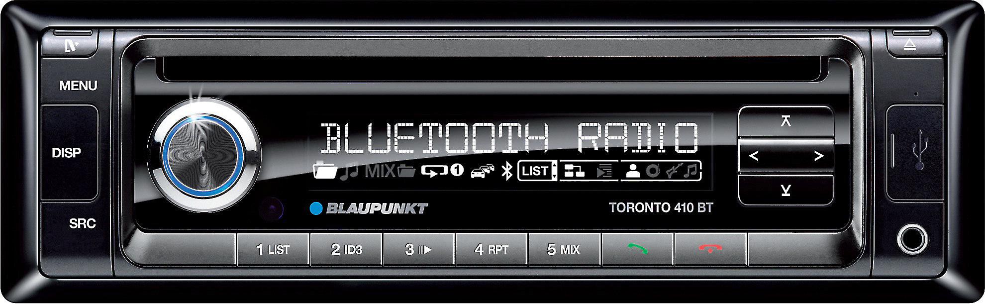 Blaupunkt 410 BT Toronto Car Radio