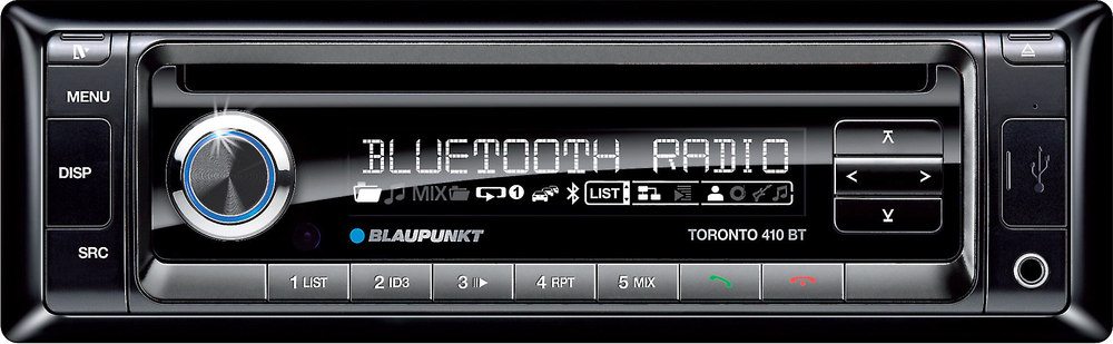 blaupunkt toronto 410 bt cd receiver at crutchfield com