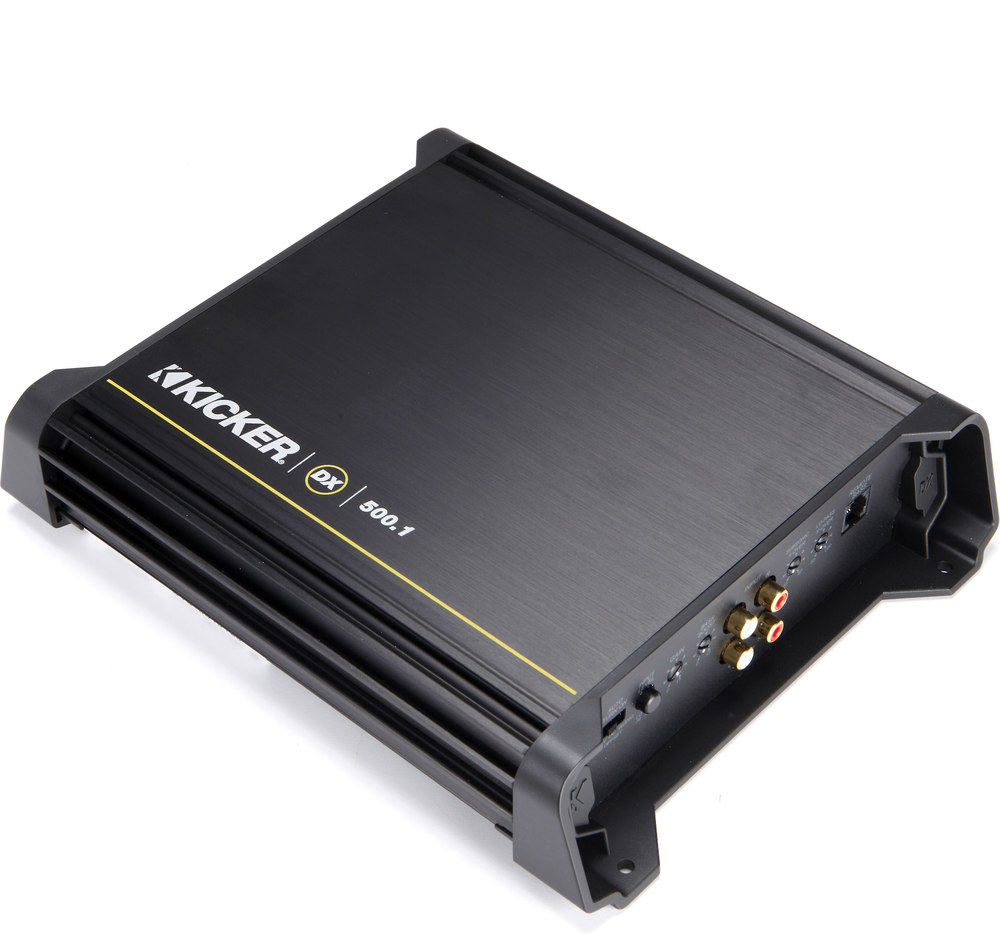 kicker 11dx500 1 mono subwoofer amplifier 500 watts rms x 1 at 2 kicker 11dx500 1 mono subwoofer amplifier 500 watts rms x 1 at 2 ohms at crutchfield com