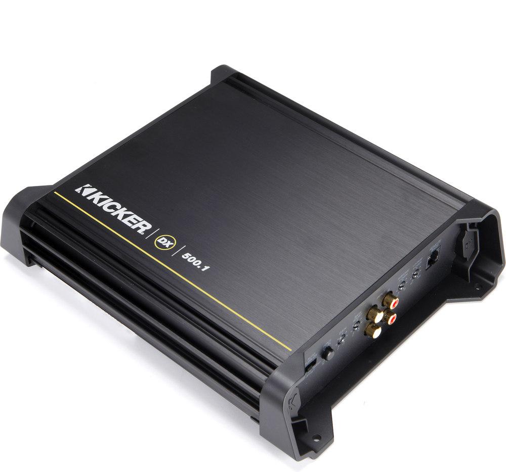 Kicker 11dx5001 Mono Subwoofer Amplifier 500 Watts Rms X 1 At 2 Crutchfield Wiring Harness Gauge Ohms