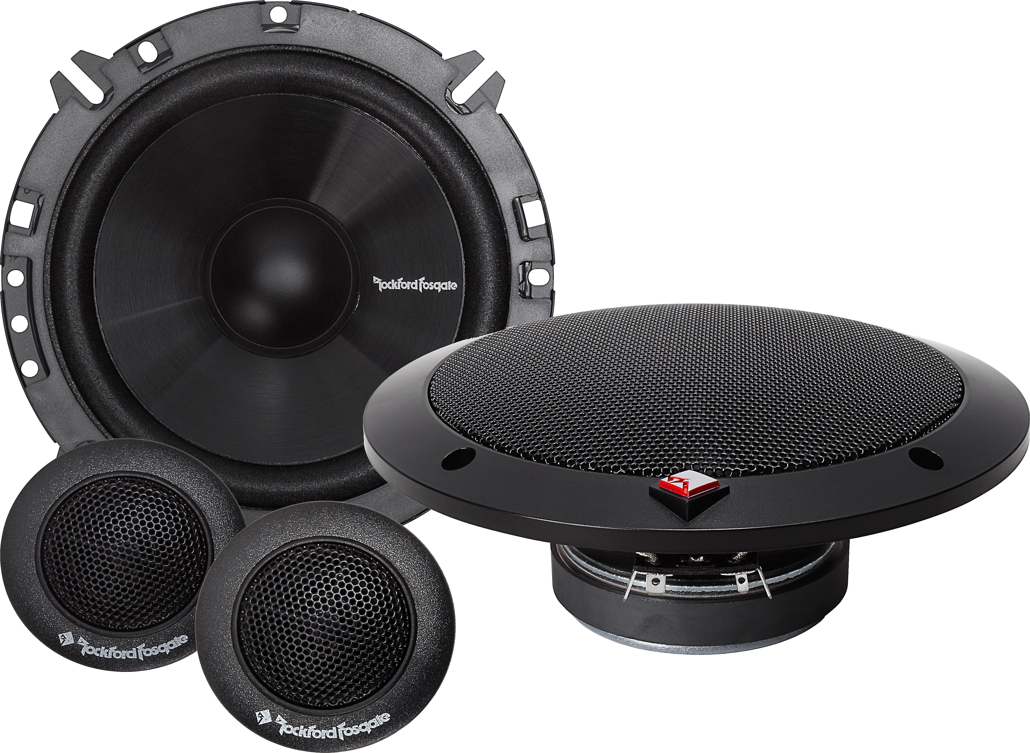 Toyota Avensis Front Door Speakers Pioneer car speakers /& adapter ring pods 300W
