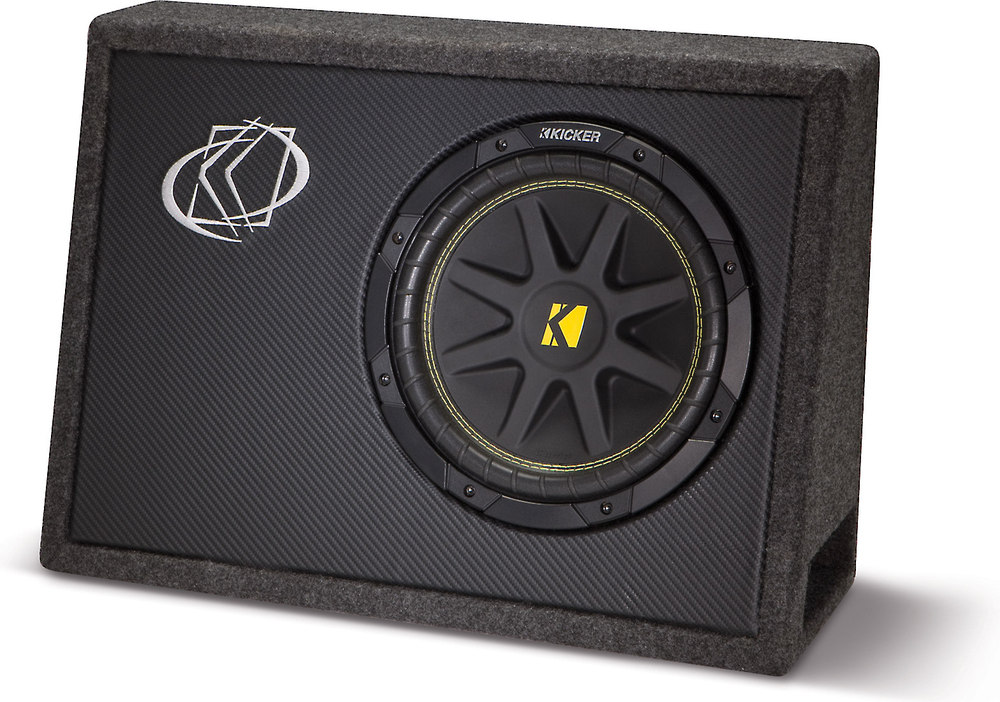 x20610TC104 F kicker 10tc104 ported truck enclosure with one 4 ohm 10\