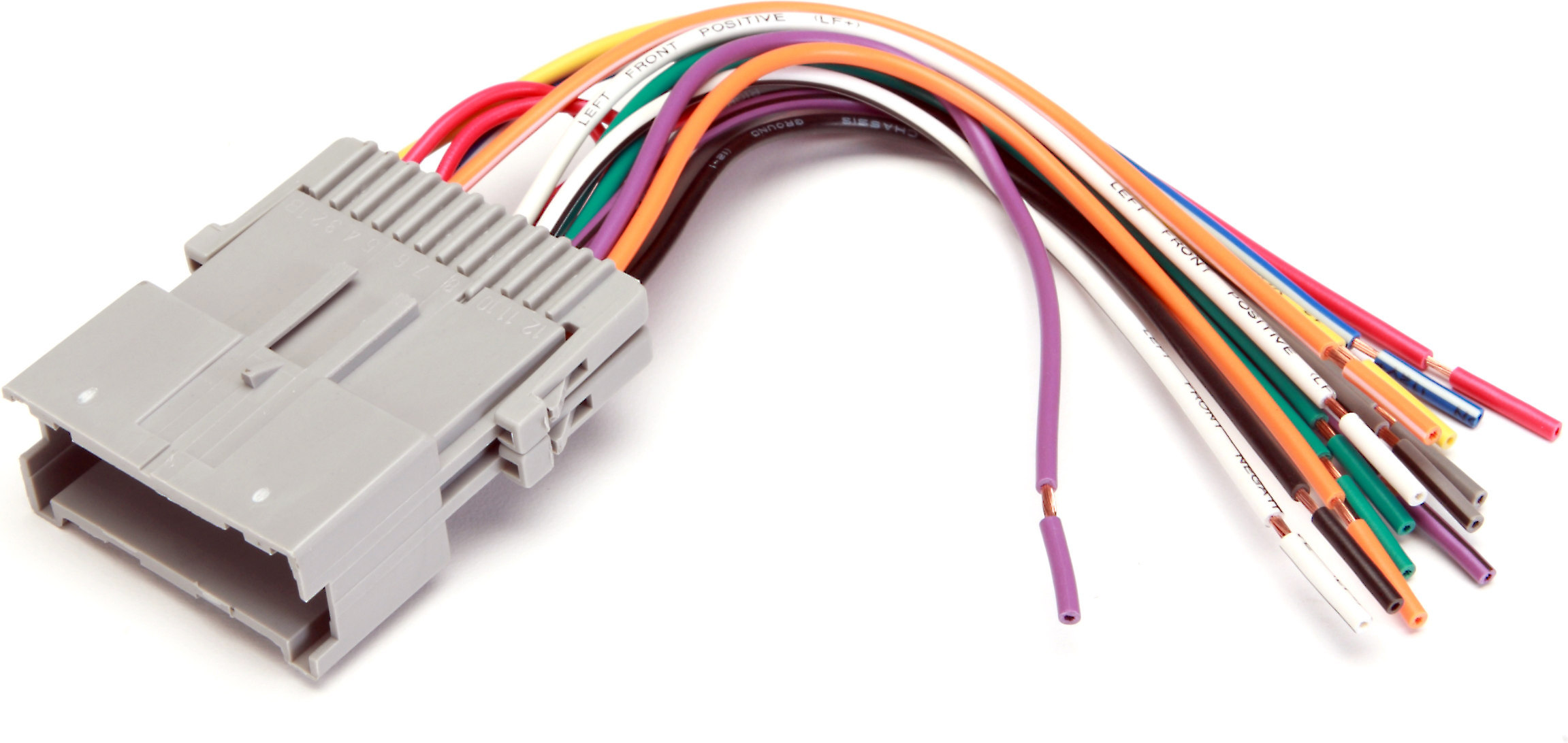 [SCHEMATICS_48ZD]  Metra 70-2002 Receiver Wiring Harness Connect a new car stereo in select  2000-05 Chevrolet and Saturn vehicles at Crutchfield | Receiver Wiring Harness Saturn |  | Crutchfield
