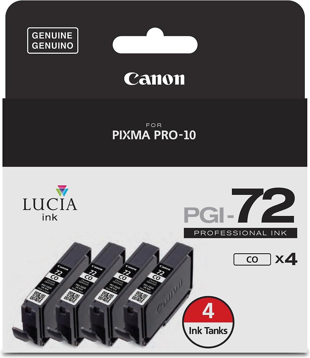 Canon PGI-72 Four-pack of chroma optimizer ink tanks for ...