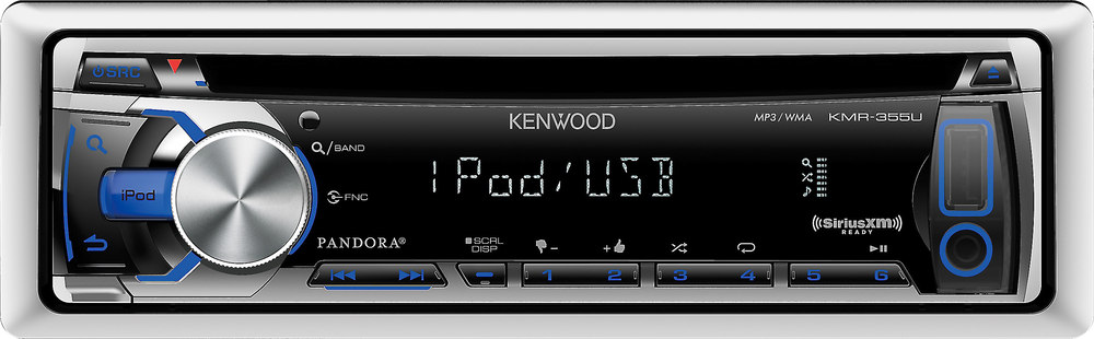 kenwood kmr 355u marine cd receiver at crutchfield com rh crutchfield com  kenwood kmr-355u owners manual