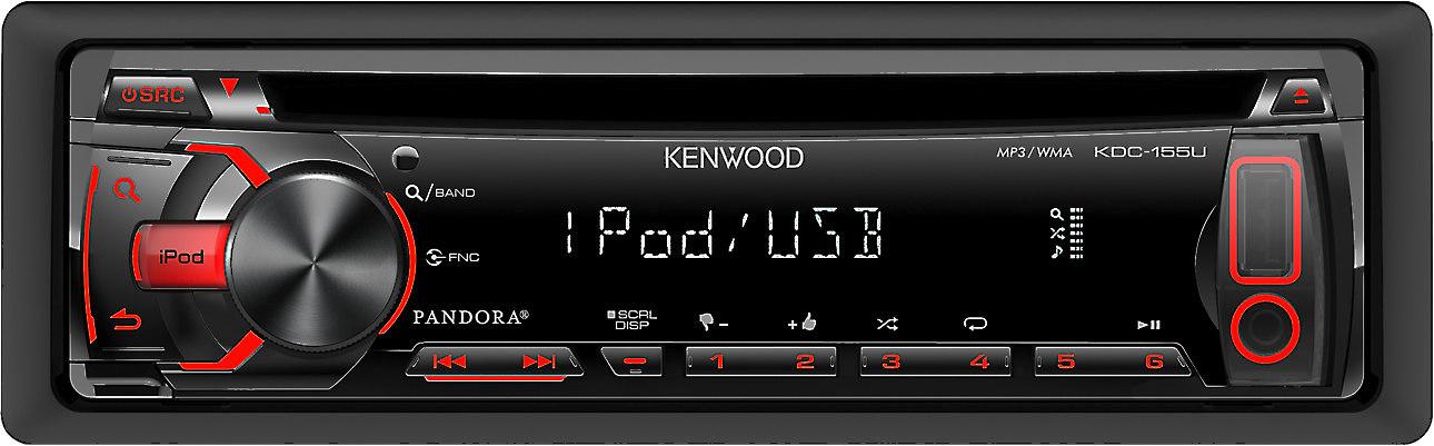 [QNCB_7524]  Kenwood KDC-155U CD receiver at Crutchfield | Kenwood Kdc 155u Wiring Harness Diagram |  | Crutchfield