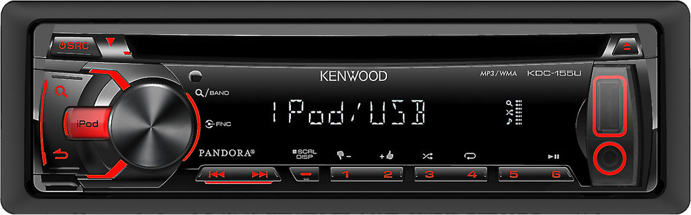 Kenwood KDC155U CD receiver at Crutchfield – Kenwood Kdc 255u Wiring-diagram