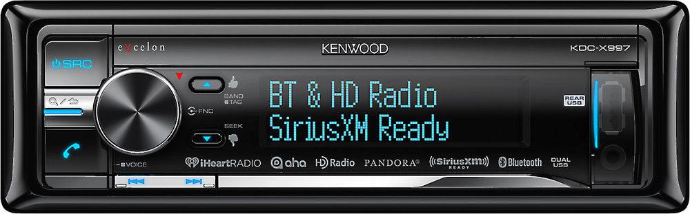 kenwood excelon kdc x997 cd receiver at crutchfield com rh crutchfield com kenwood excelon kdc x994 manual kenwood excelon kdc x993 manual