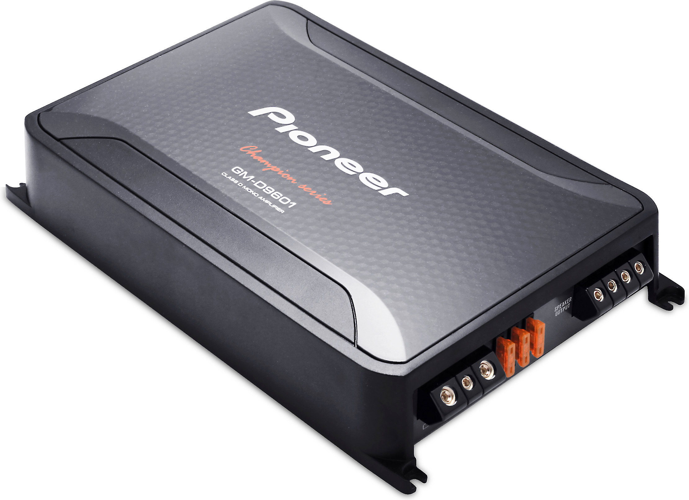 Pioneer GM-D9601 Mono subwoofer amplifier — 1200 watts RMS at 1 ohm on