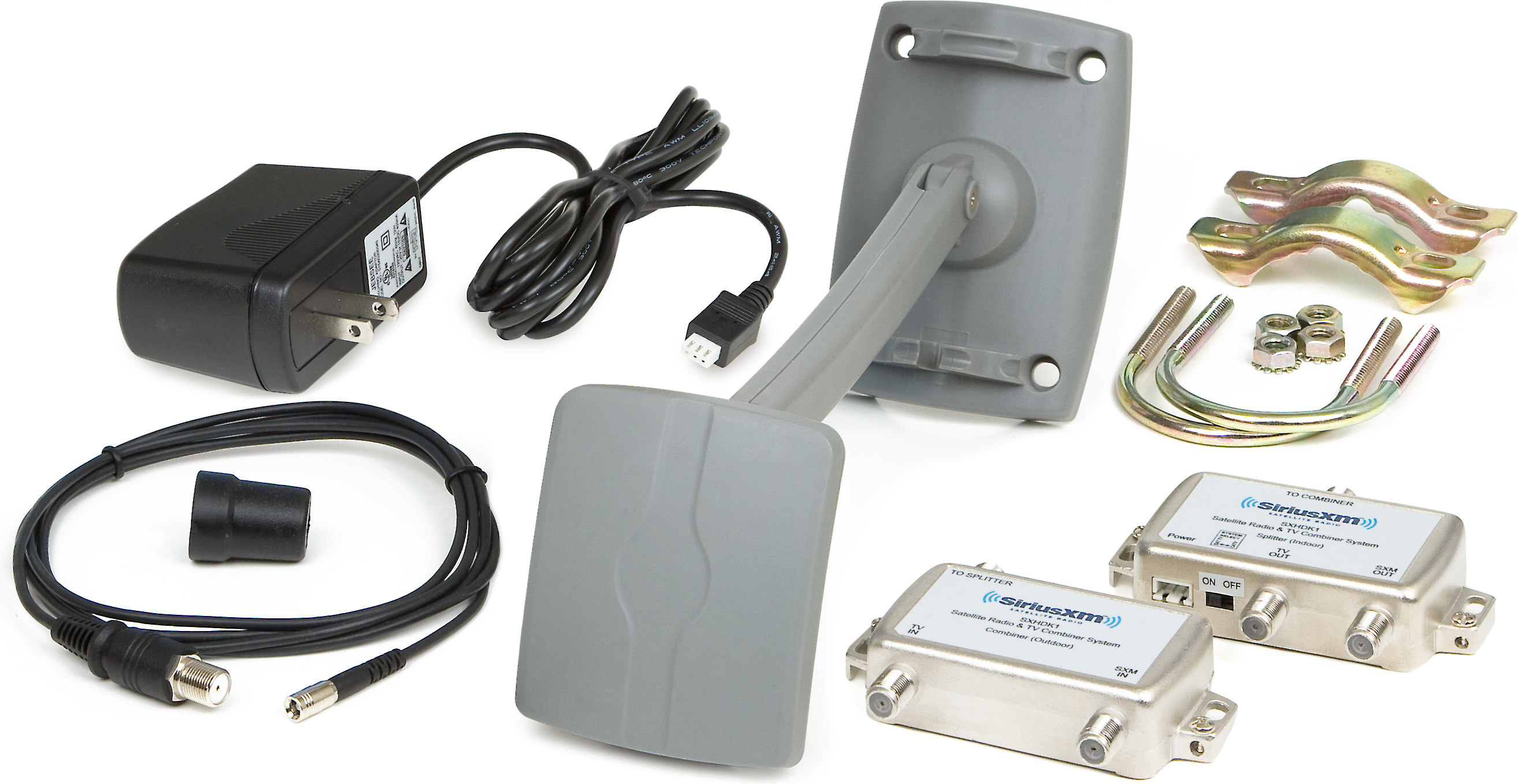 SiriusXM Home Antenna and Signal Distribution Kit Uses your ... on