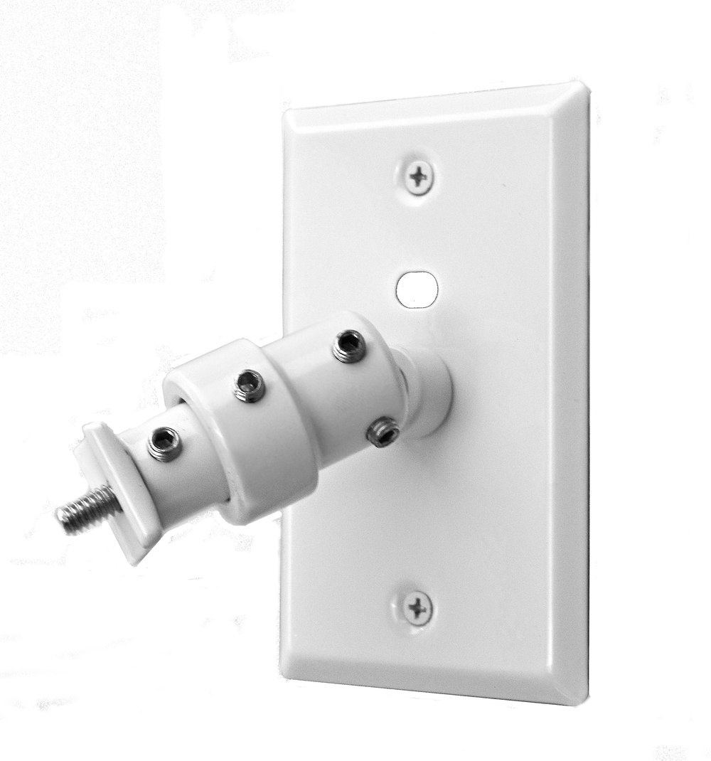 pinpoint am20 white wall and speaker bracket at - Speaker Mounts