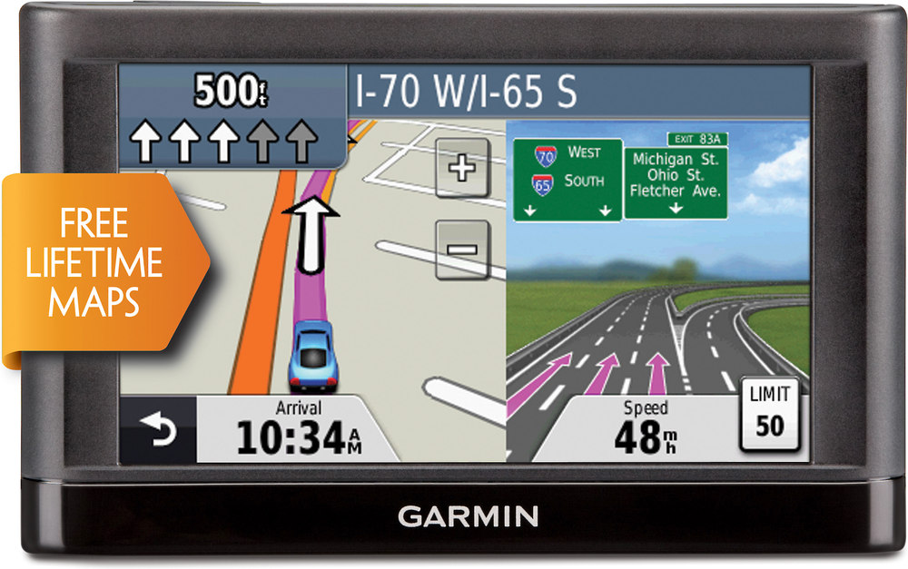 Garmin Nüvi LM Portable Navigator With Screen And Free - Garmin nuvi 50 us maps download free