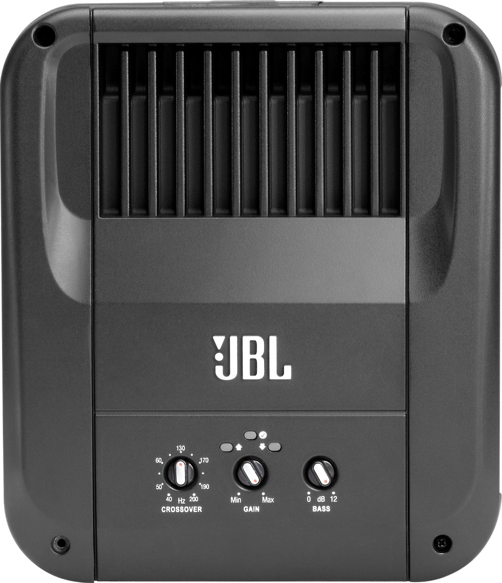 Jbl Gto 501ez Mono Subwoofer Amplifier 500 Watts Rms X 1 At 2 Ohms 3 W Class D With Smart Gain