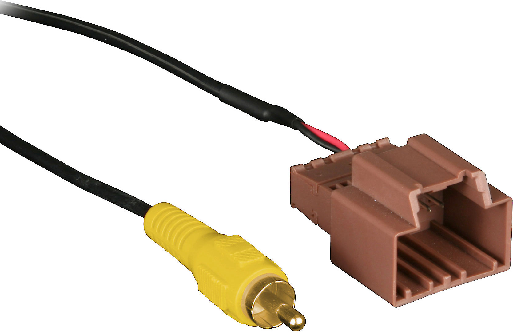 [QMVU_8575]  Metra BackupCam Backup Camera Cable Retain the factory backup camera when  installing a new car stereo in select 2006-up GM vehicles at Crutchfield | Gm Backup Camera Wiring |  | Crutchfield