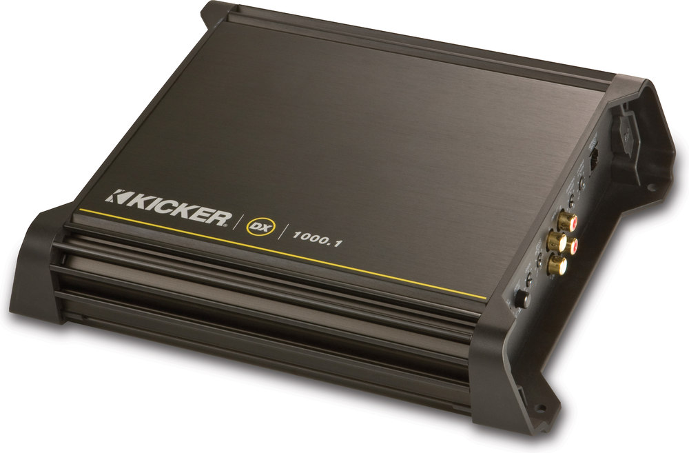 x2061DX1K01 F kicker 11dx1000 1 mono subwoofer amplifier 1000 watts rms x 1 at Kicker 1000 Watt Amp at bayanpartner.co