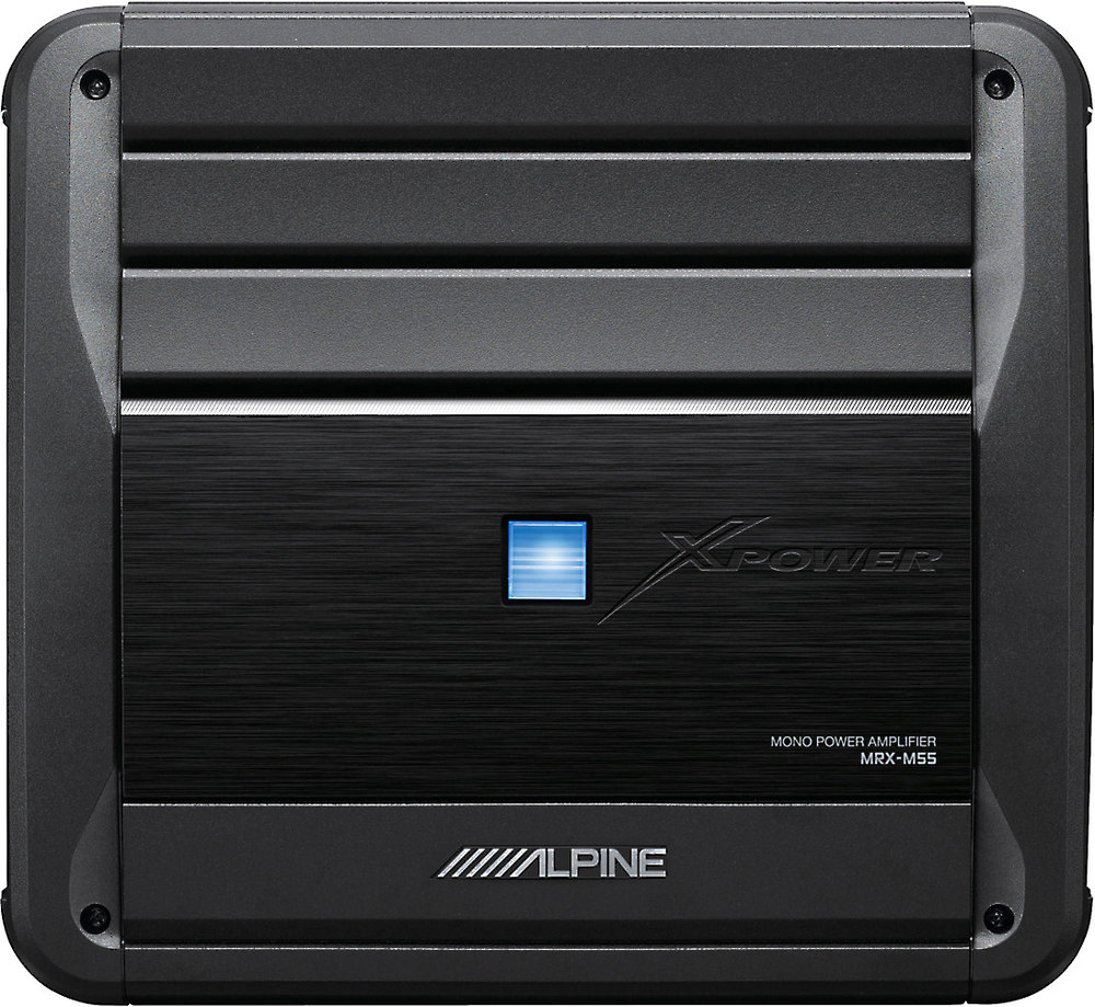 x500MRXM55 F alpine mrx m55 mono subwoofer amplifier 550 watts rms x 1 at 2 Alpine MRP M450 at panicattacktreatment.co