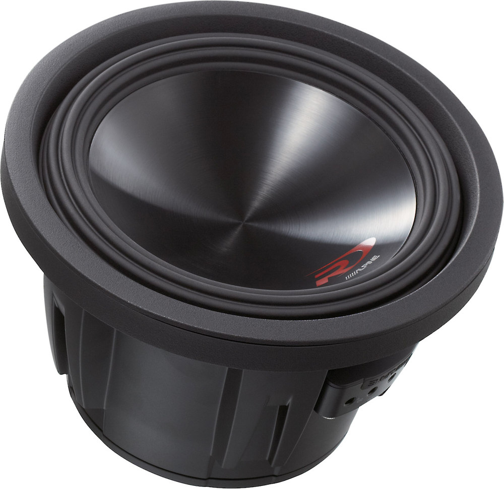 Alpine Swr 10d2 Type R 10 Subwoofer With Dual 2 Ohm Voice Coils At Speakers Wired In Parallel Recommended Amplifier Stable 1 Mono