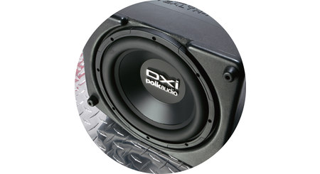 Water-resistant subwoofer