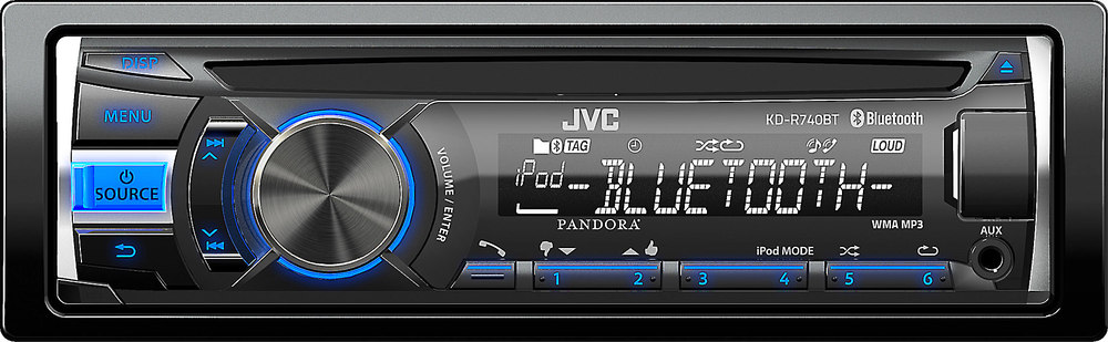 x105KDR740B F jvc kd r740bt cd receiver at crutchfield com jvc kd-r740bt wiring diagram at bayanpartner.co