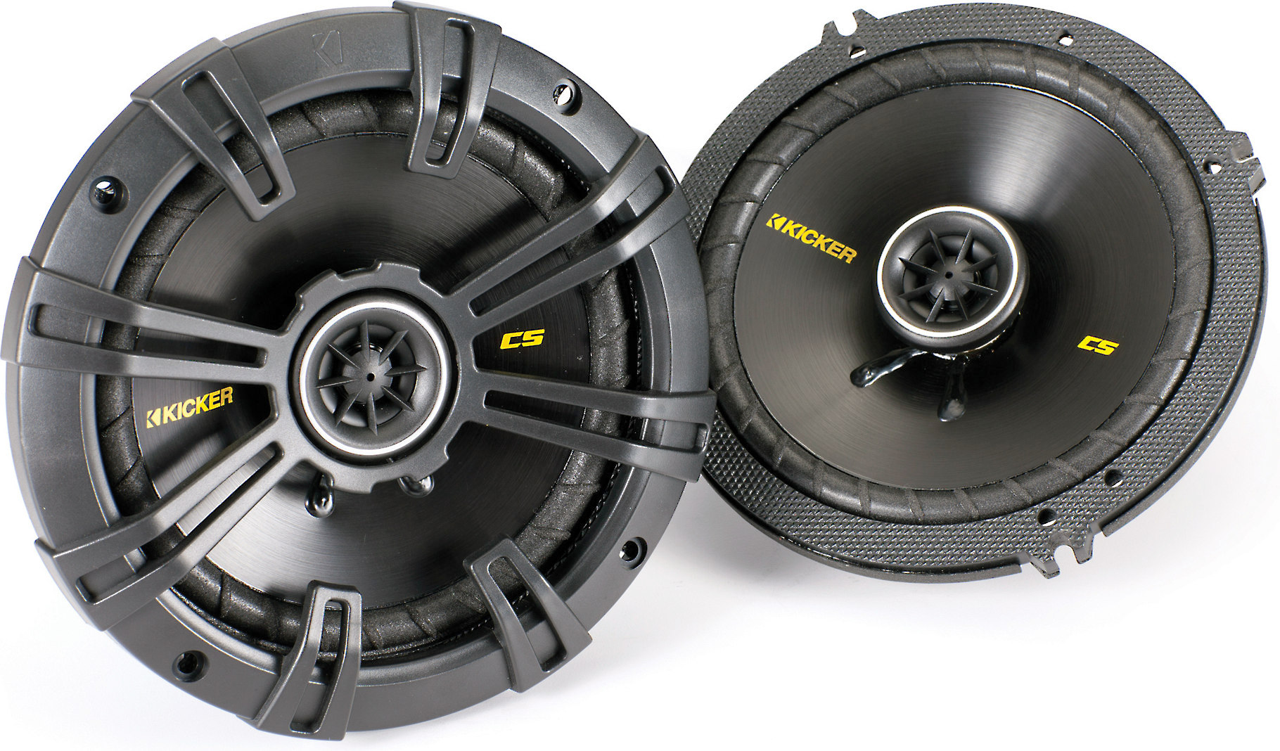 Kicker 41KSC654 6.5 inch Coaxial 2-Way Speakers