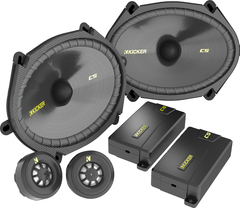 Kicker 40css684 6x8 Component Speaker System At Wiring Diagram