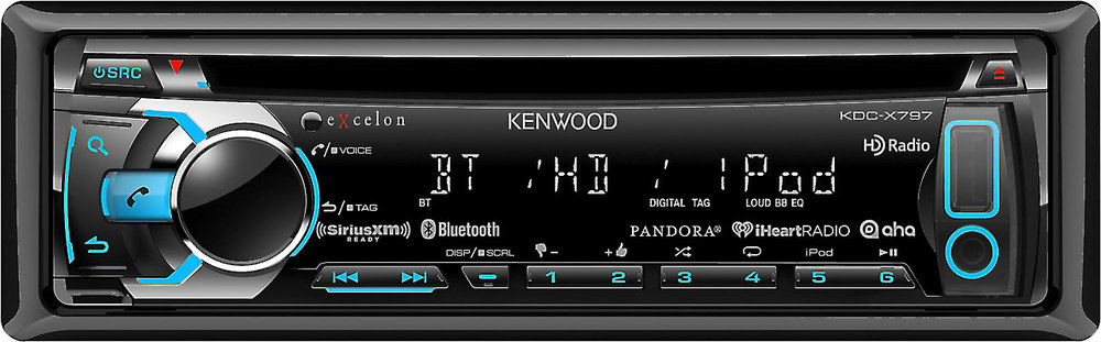 x113KDCX797 F kenwood excelon kdc x797 cd receiver at crutchfield com kenwood kdc-x797 wiring diagram at bakdesigns.co