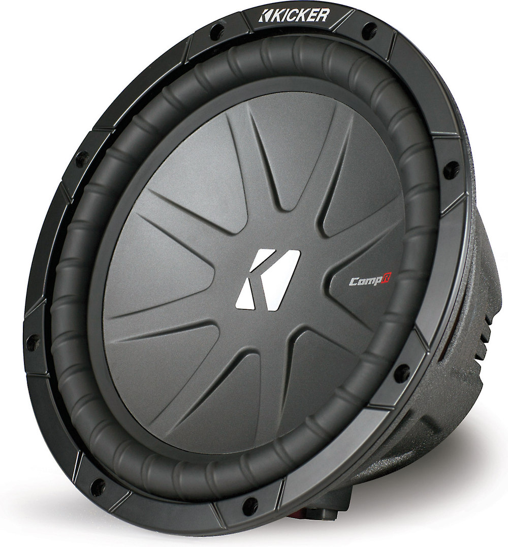 Kicker 40cwr102 Compr Series 10 Subwoofer With Dual 2 Ohm Voice Parallel Wiring Speakers Crutchfield Coils At