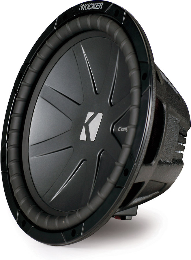 kicker 40cwr122 compr series 12 subwoofer dual 2 ohm voice kicker 40cwr122 compr series 12 subwoofer dual 2 ohm voice coils at crutchfield com
