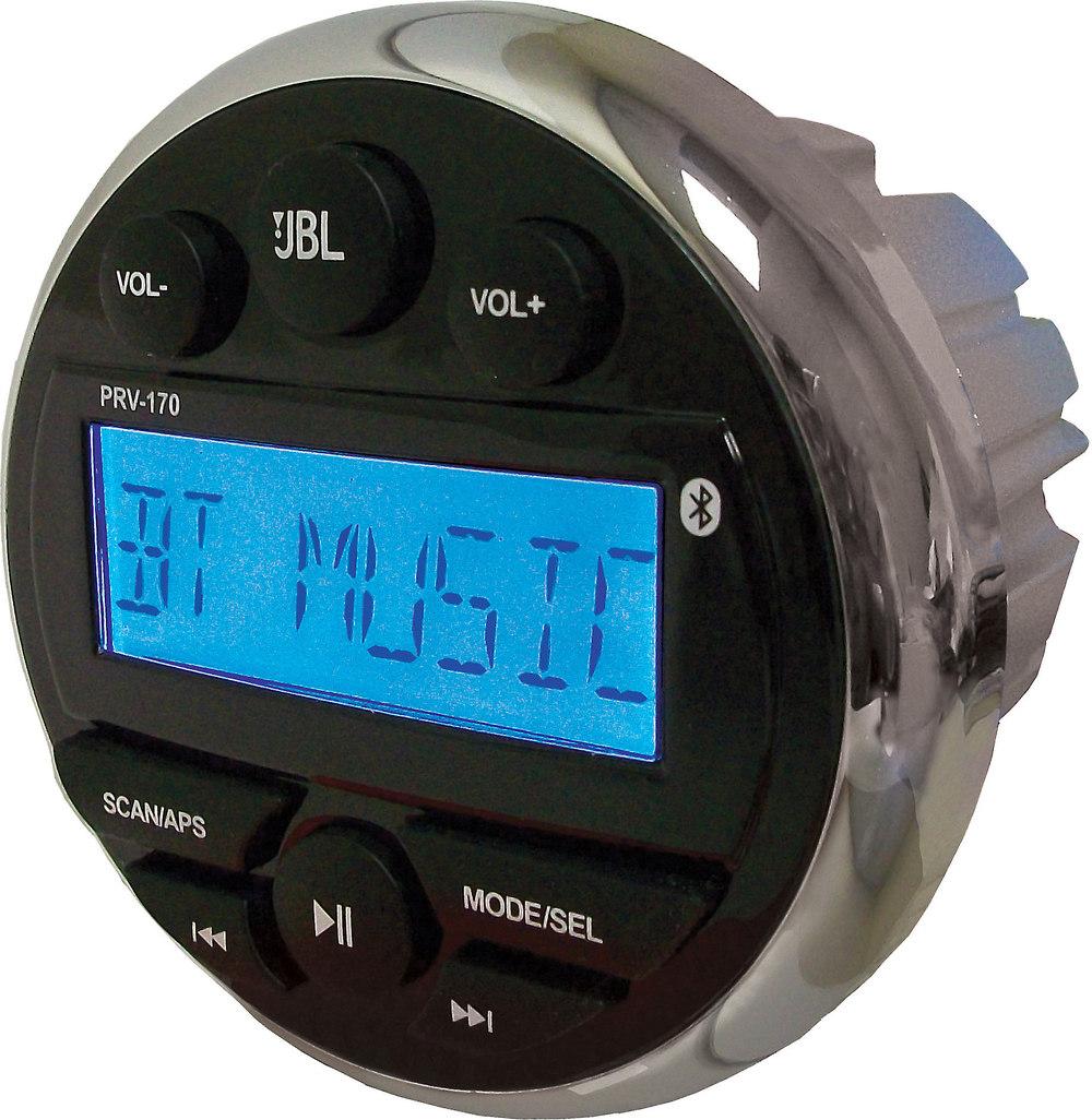 JBL PRV170 Marine Digital Media Receiver With Built-in Bluetooth® At Crutchfield.com