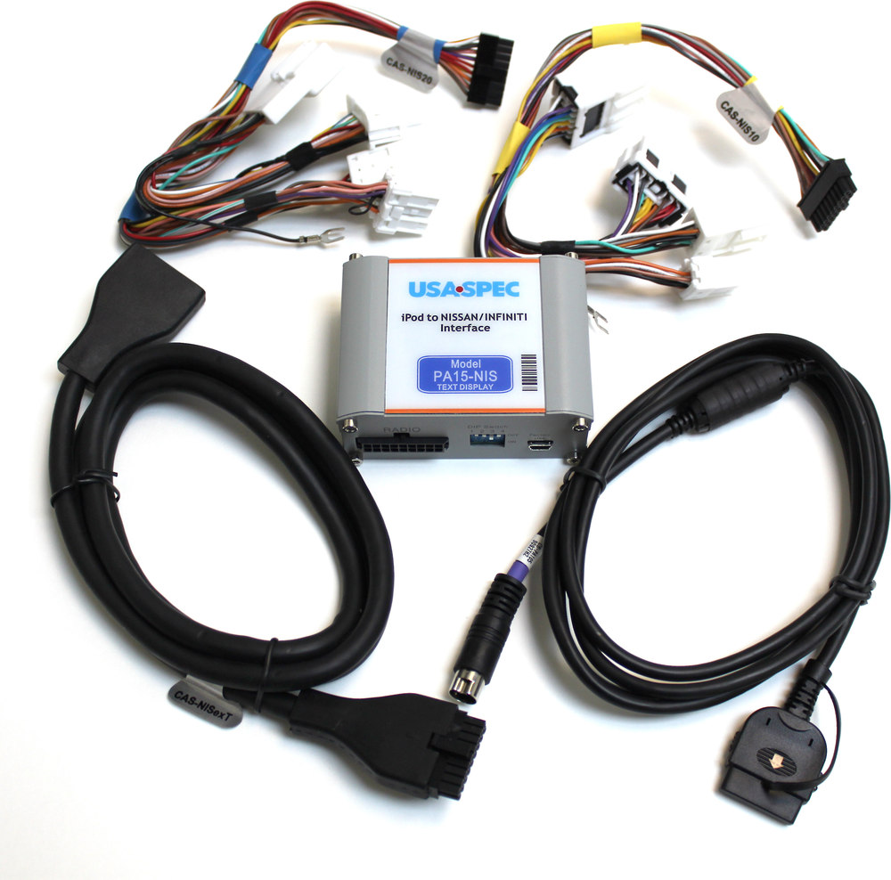 Usa Spec Ipod Interface For Nissan Connects Your To Select Cable Wire Diagram 1999 Up Or Infiniti Factory Radios At