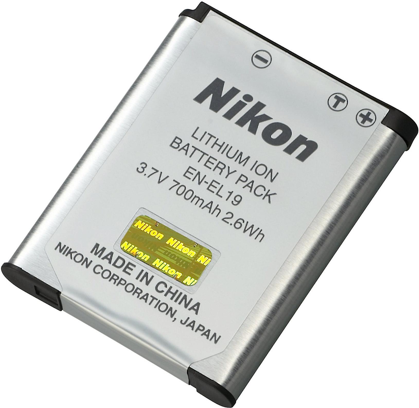 a2a8f3b9fed Nikon EN-EL19 Rechargeable lithium ion battery for select Nikon Coolpix  cameras at Crutchfield