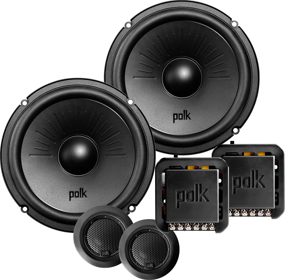 polk audio dxi6501 6 1 2 quot component speaker system also fit 6 3 4 quot openings at crutchfield