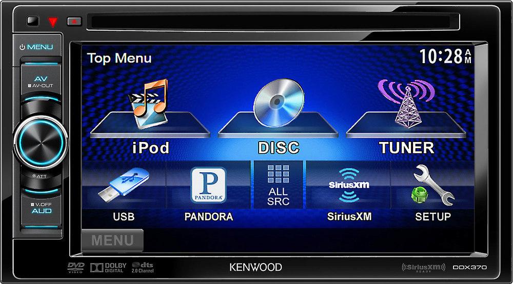 Kenwood Ddx370 Dvd Receiver At Crutchfield Com