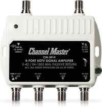 Channel Master 3414  4-Output Distribution Amplifier