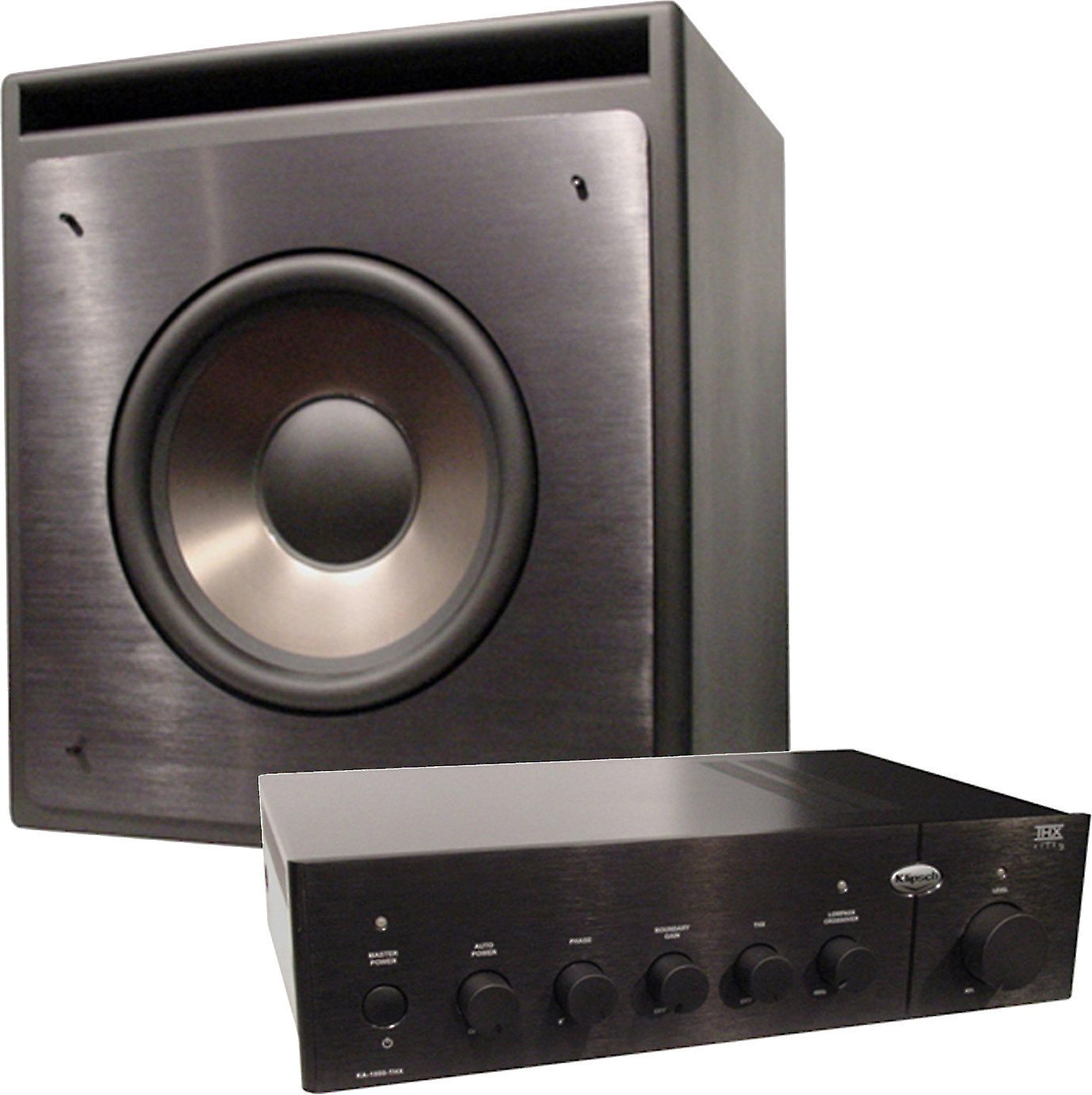 klipsch kw 120 thx thx certified passive subwoofer with. Black Bedroom Furniture Sets. Home Design Ideas