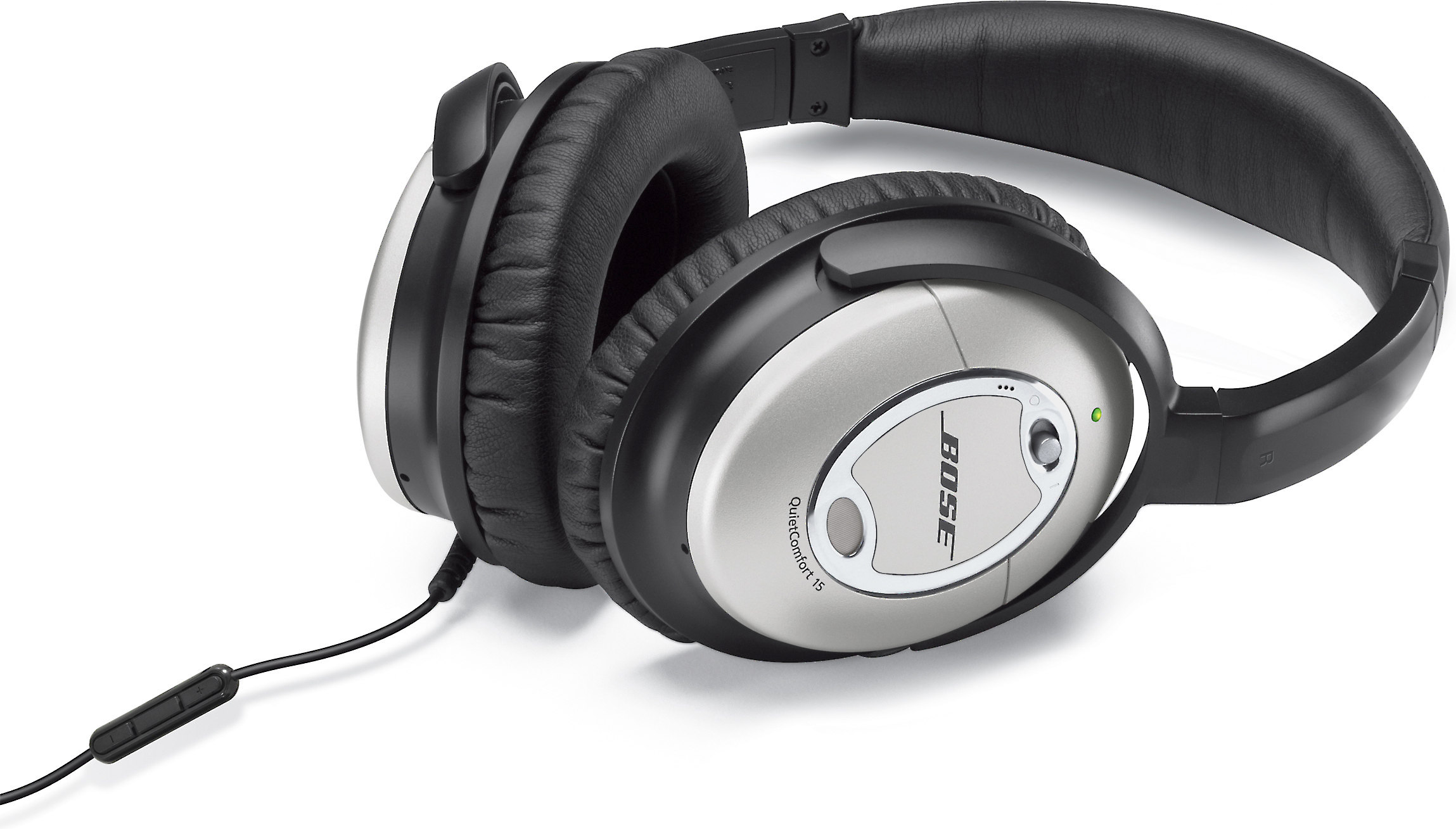 9357a8224db Bose® QuietComfort® 15 Acoustic Noise Cancelling® headphones at Crutchfield