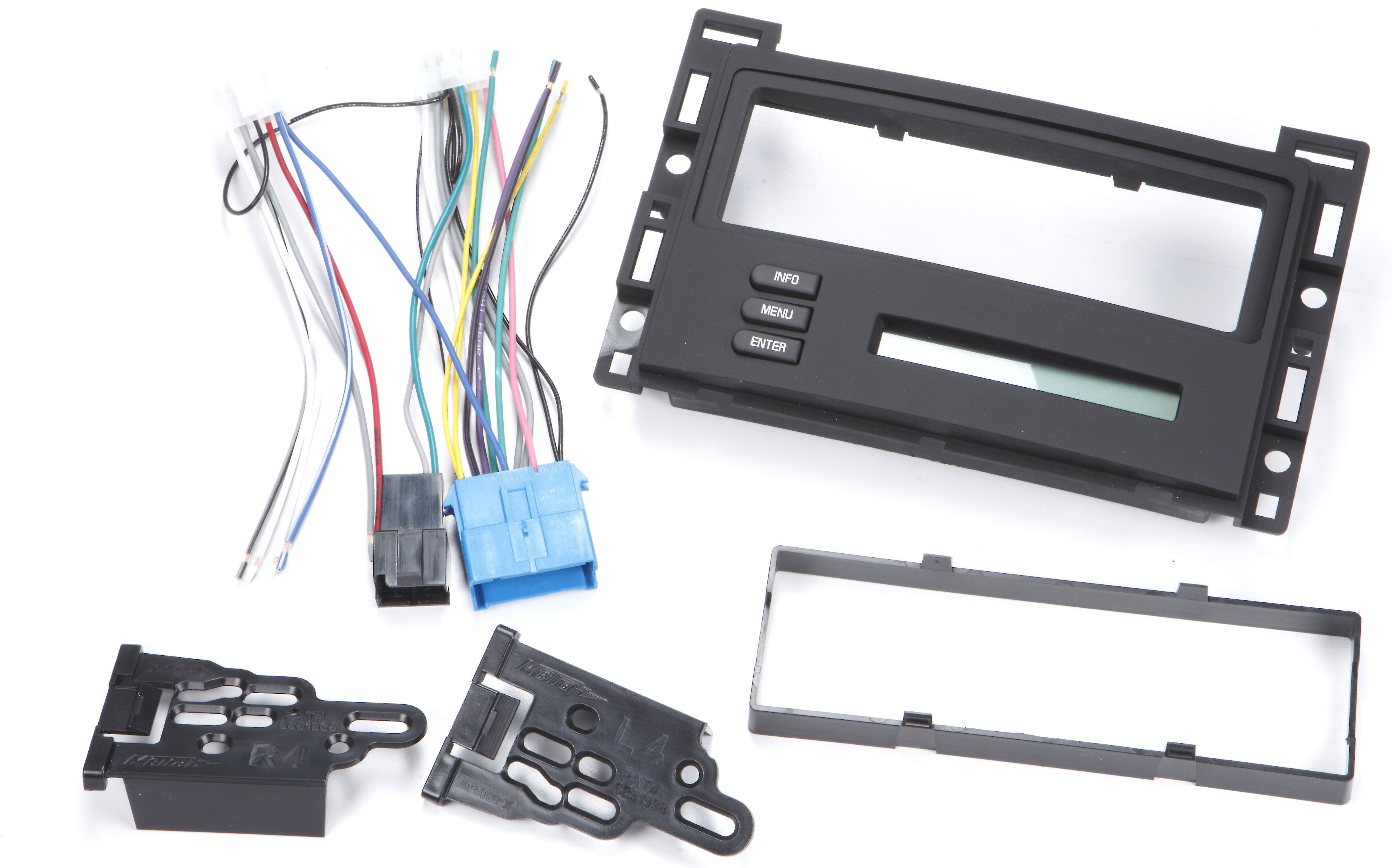 Single Din Stereo Radio Install Dash Kit Stereo for select Chevy Olds Ect