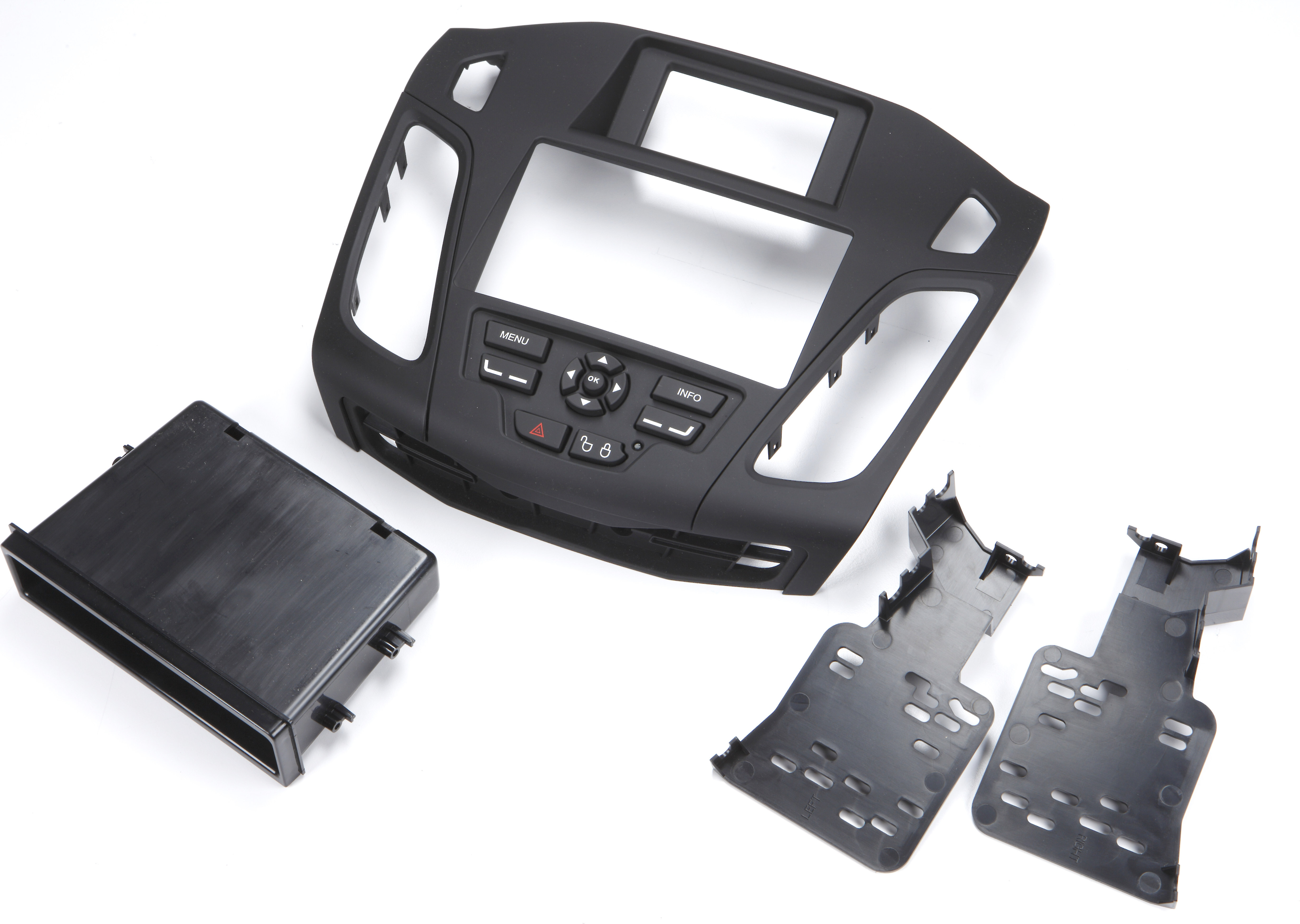 Metra 99-5827B Double//Single DIN Radio Installation Kit for 2012-Up Ford Focus