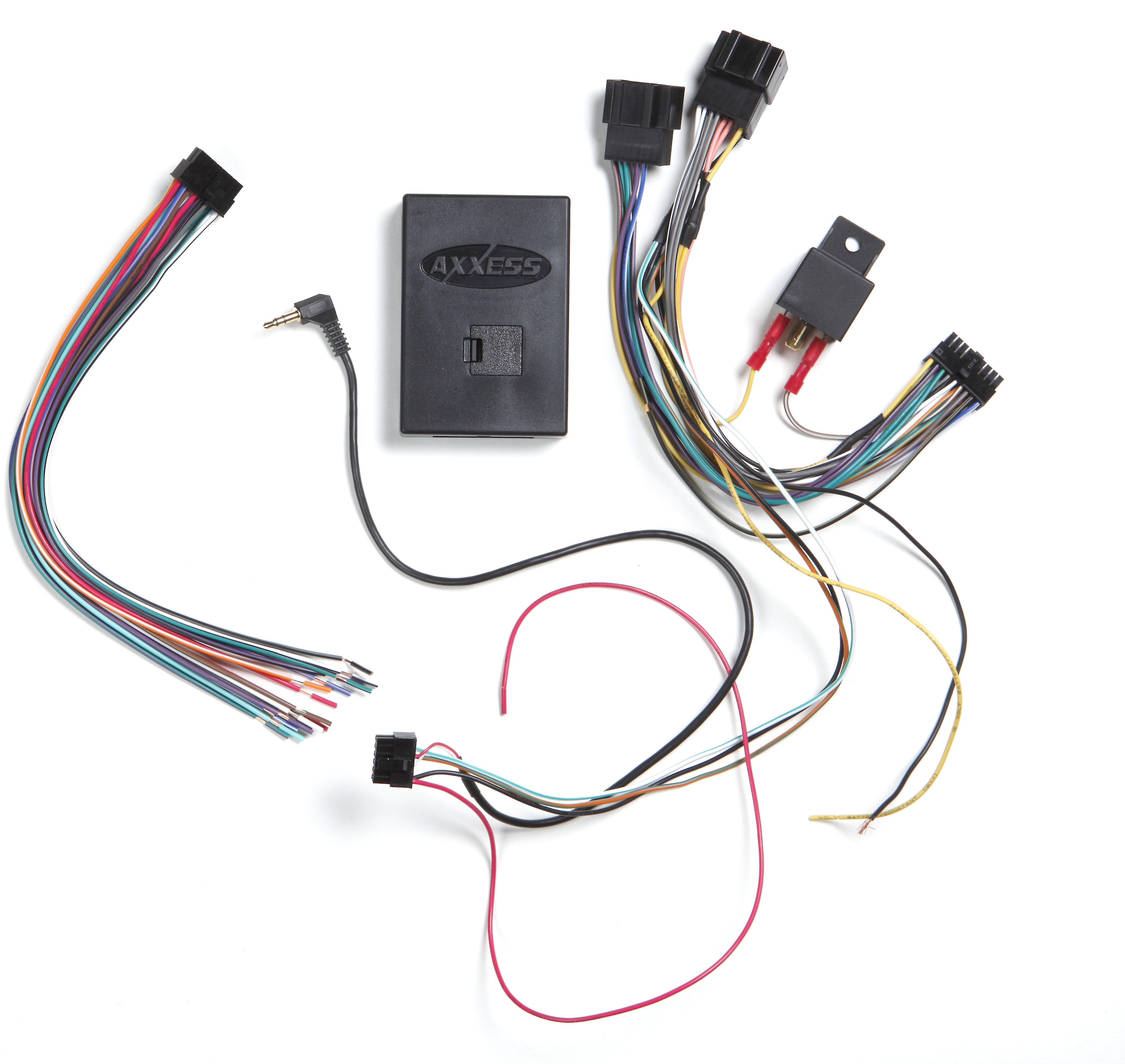 Radio Replacement Wire Harness Amplifier Chime Interface Retains