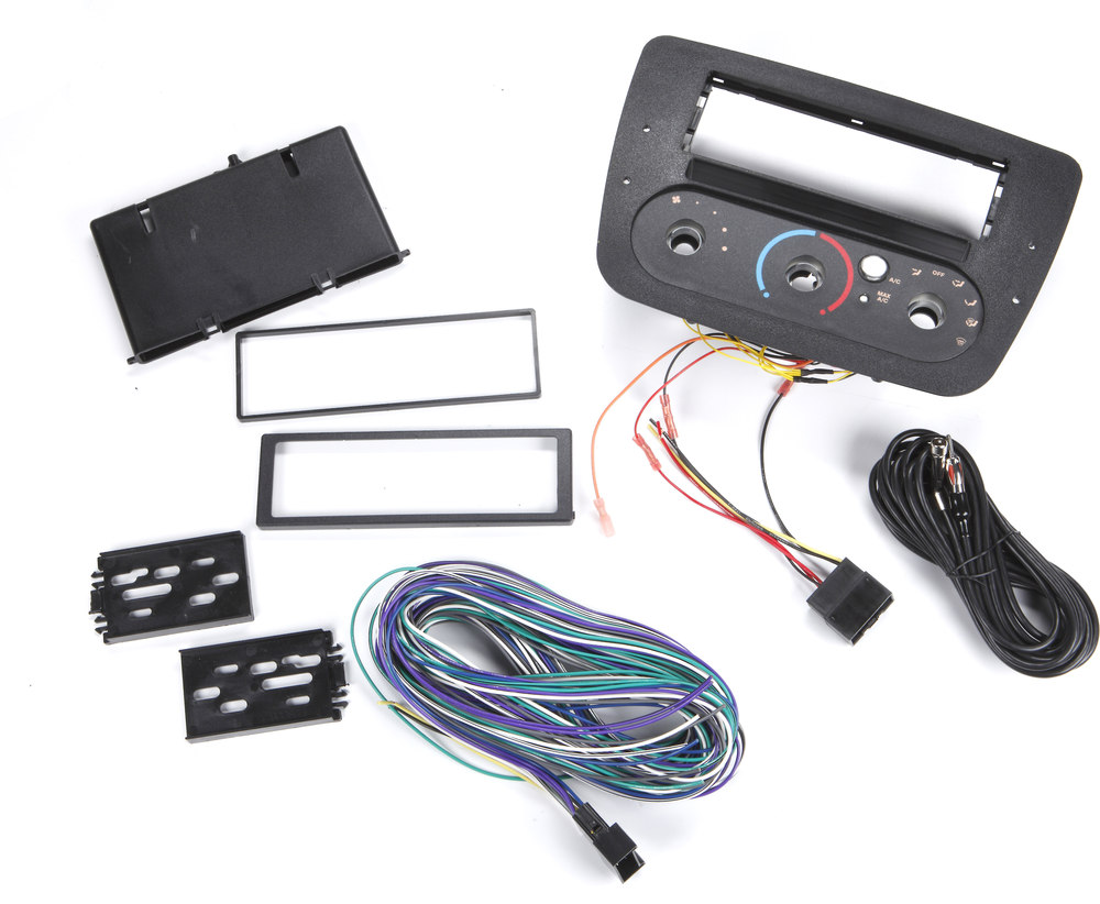 Scosche FD1380B Dash and Wiring Kit Install and connect a new car stereo in  select 2000-Up Ford Taurus and Mercury Sable vehicles with rotary climate  ...