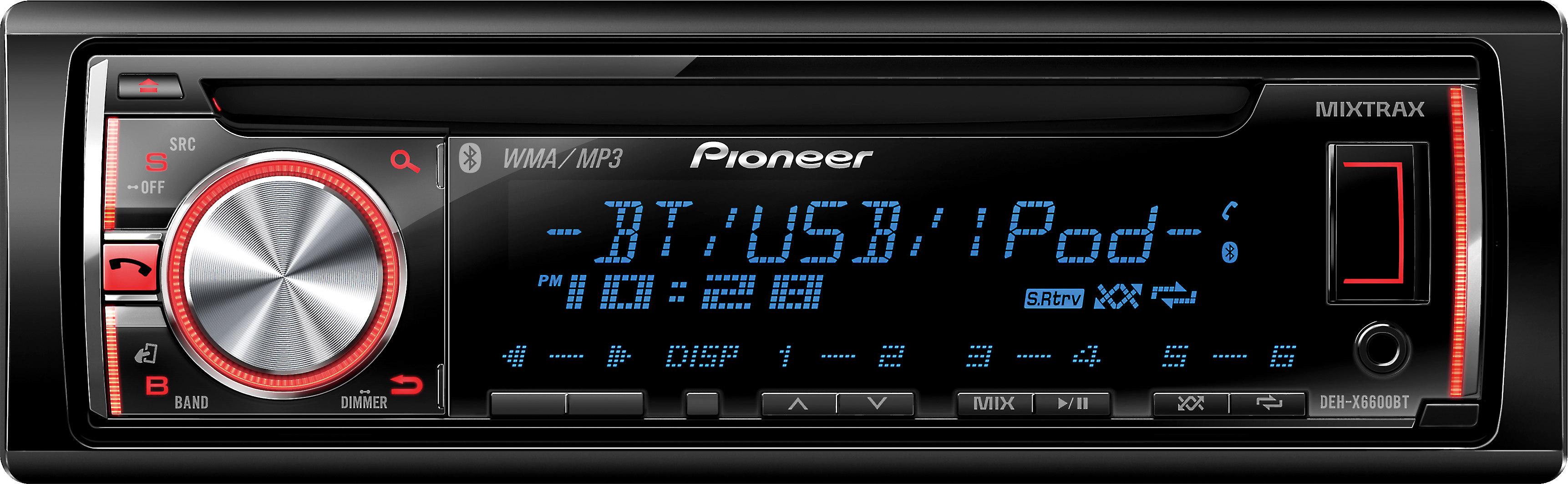 Pioneer Deh X3600ui Wiring Diagram