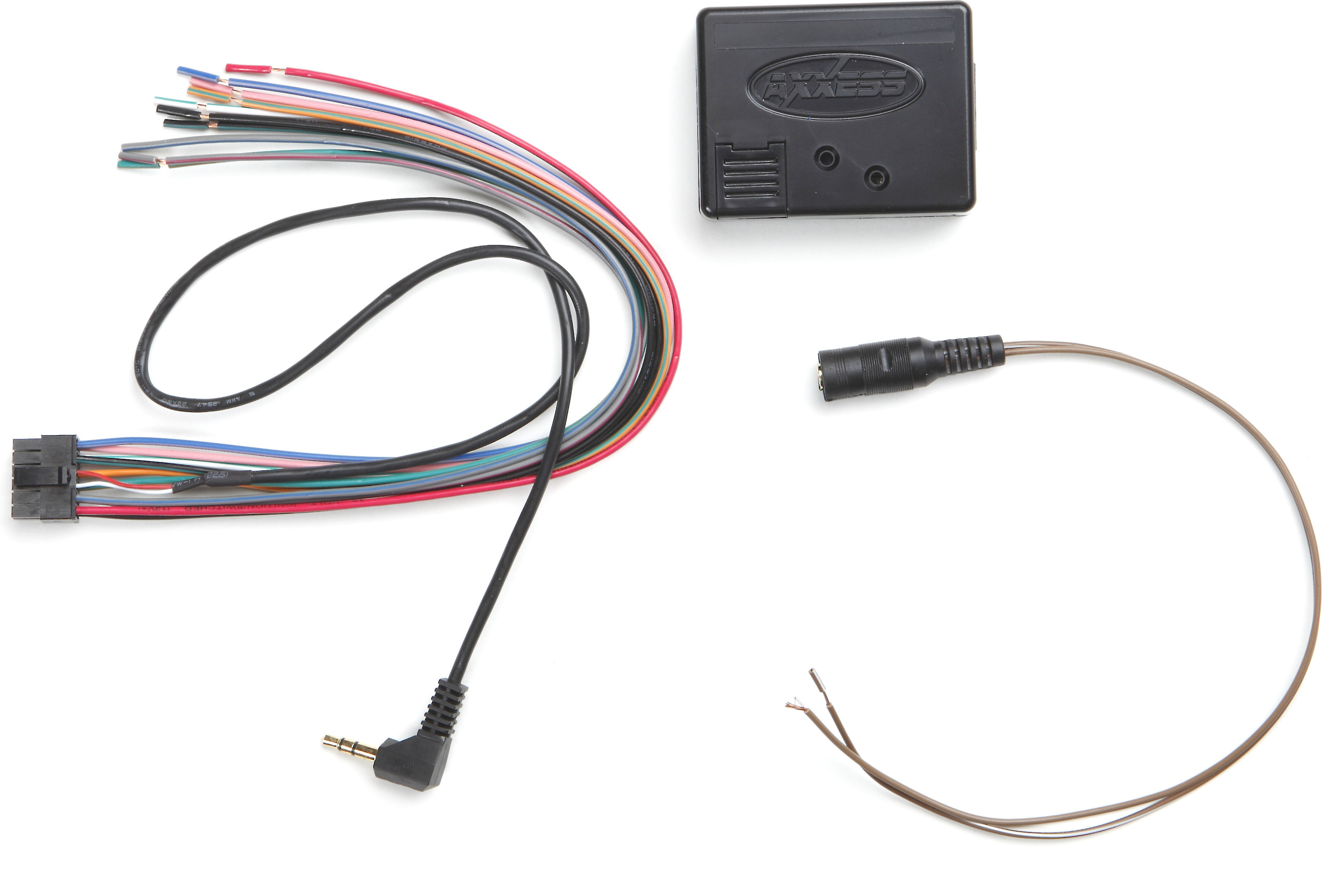 axxess aswc-1 steering wheel control adapter connects your car's steering  wheel audio controls to select aftermarket car stereos at crutchfield