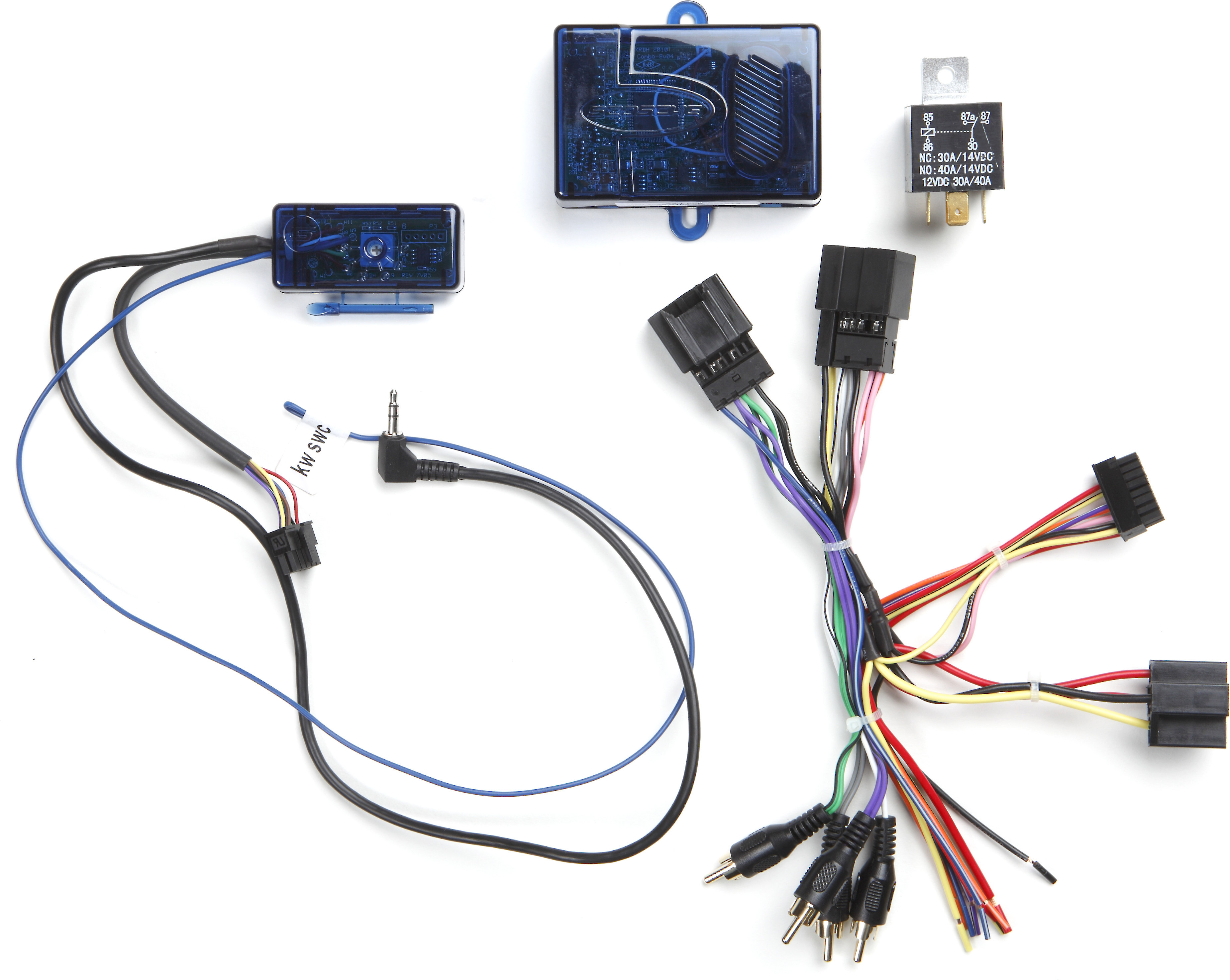 scosche gm23sr wiring interface connect a new car stereo and retain safety  warning chimes and steering wheel audio controls in 2006-up gm vehicles at
