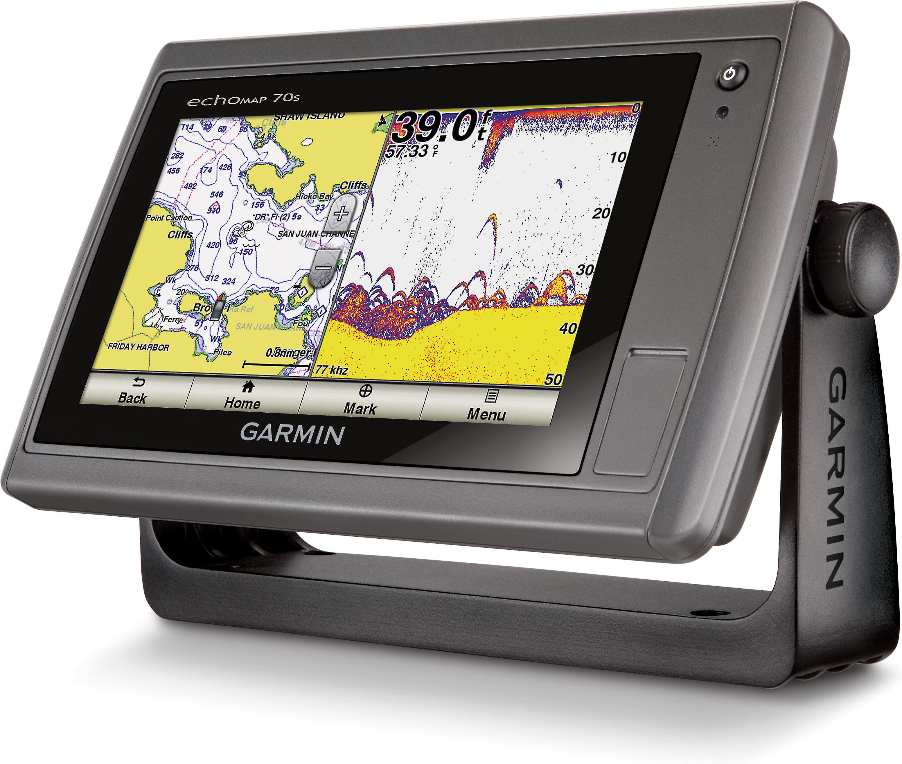 Garmin echoMAP 70s (with transducer) Chartplotter/fishfinder ... on