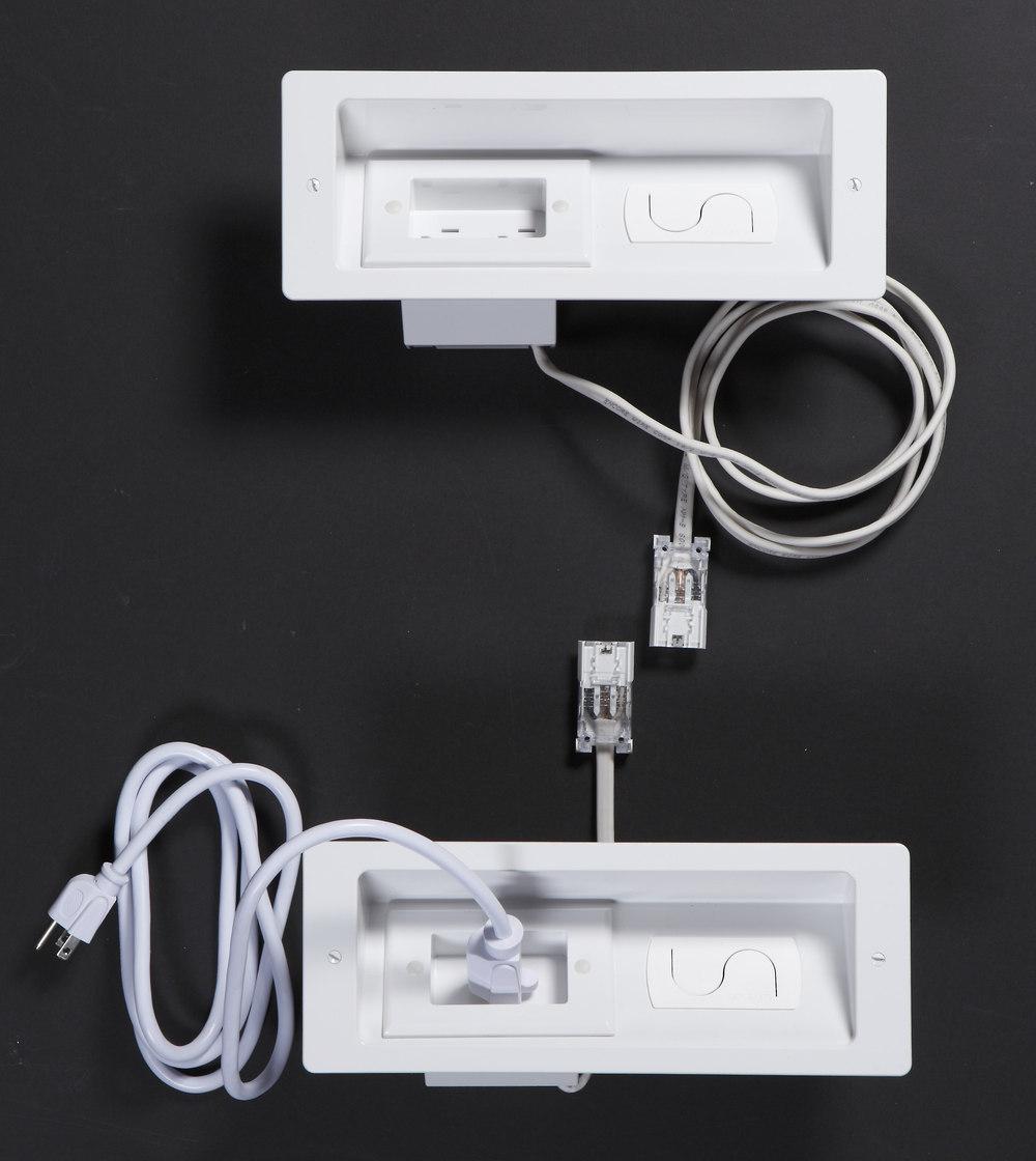 Sanus ELM806 PowerBridge In-wall power management extender system at  Crutchfield.com