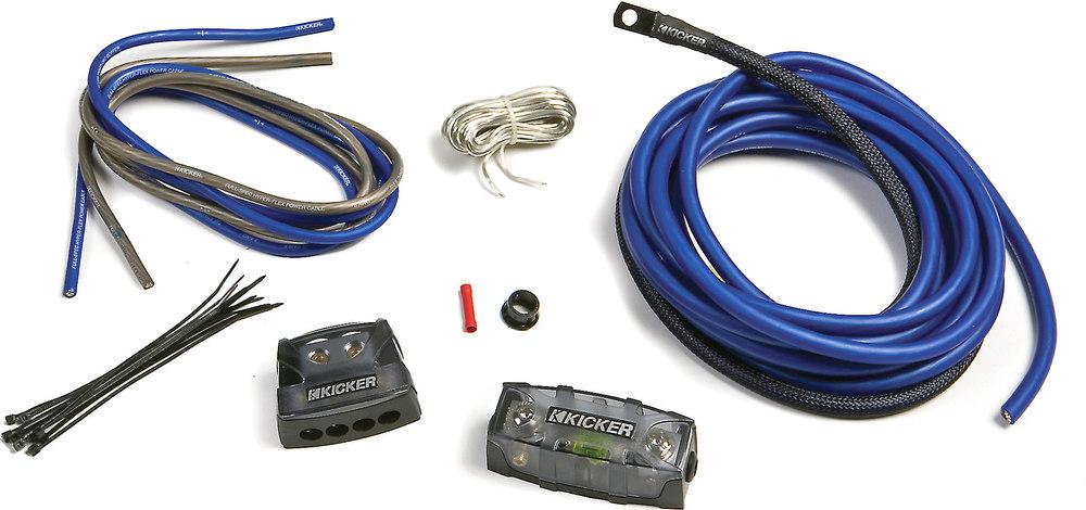 kicker amp wiring kit installation solidfonts kicker pk4 4 gauge amplifier power wiring kit