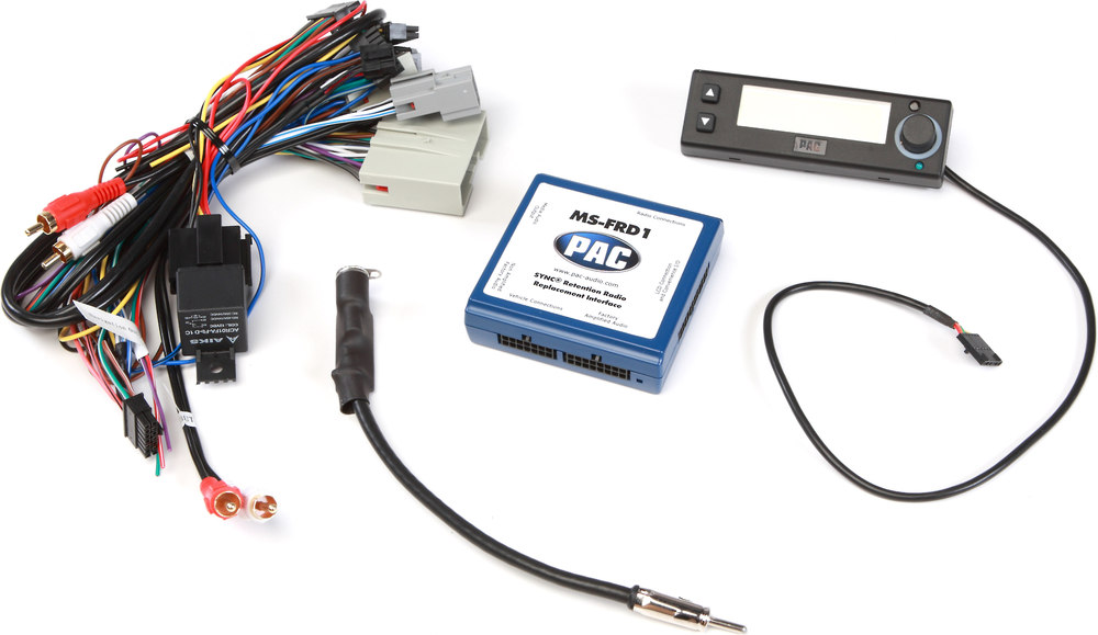 pac ms frd1 wiring interface connect a new car stereo and retain the sync 174 system and rear seat