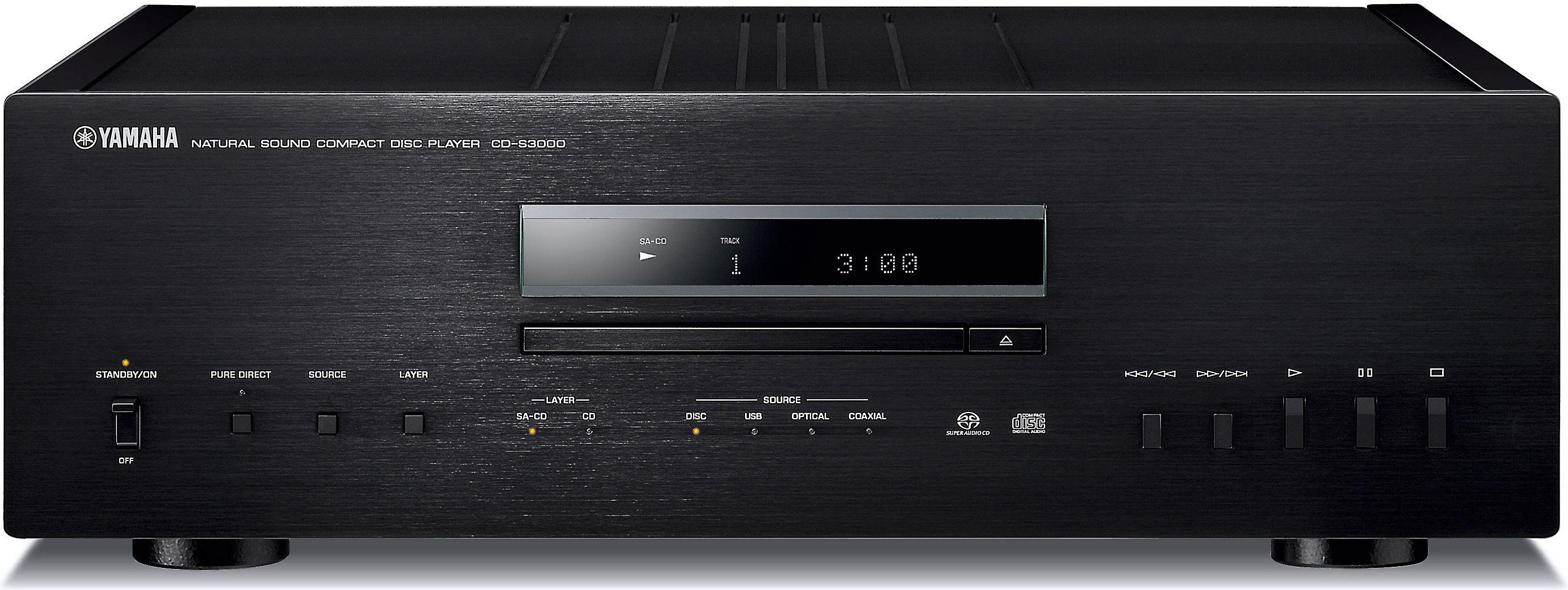 Yamaha CD-S3000 (Black)