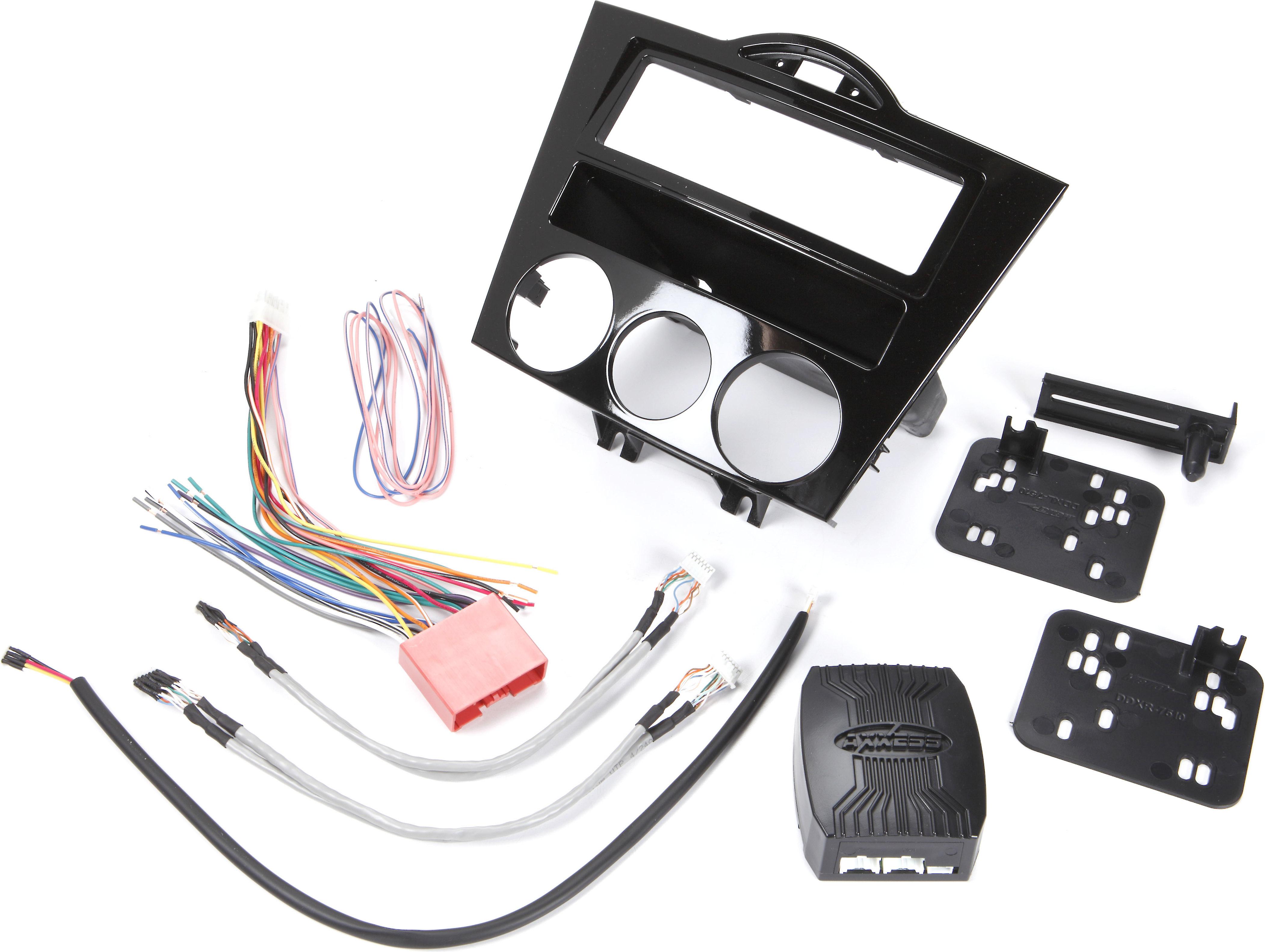 Fits Mazda RX8 2004-2008 Single DIN Aftermarket Harness Radio Install Dash Kit